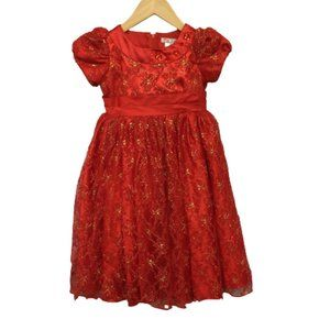 2/$30 T.T Category Girls Red Dress